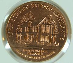 Truman Centennial Medal reverse