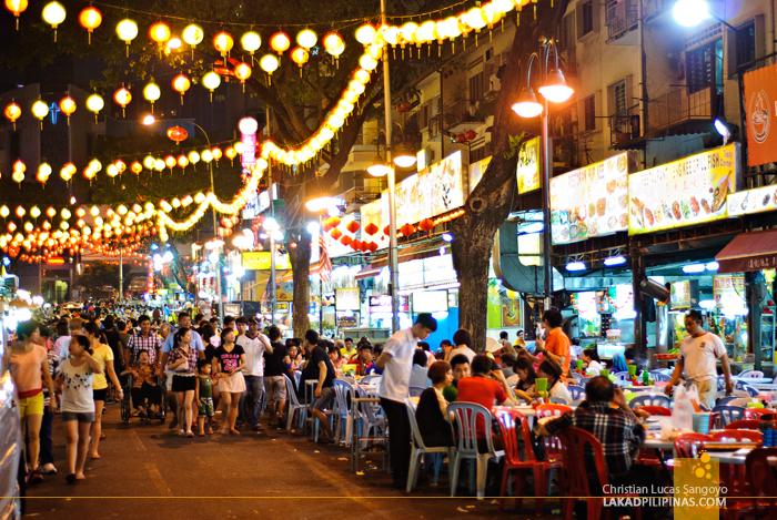 Jalan Alor Street Food Hawkers near Apple Hotel Bukit Bintang, Kuala Lumpur