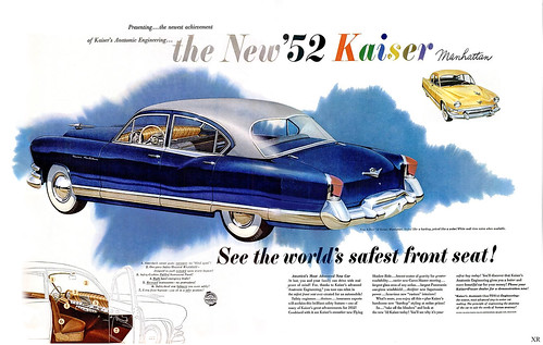 1952 ... safest front seat!