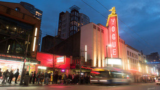 Vogue Theatre Downtown Vancouver