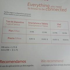 Las tarifas del WiFi en vuelo de Iberia Cc @sirchandler
