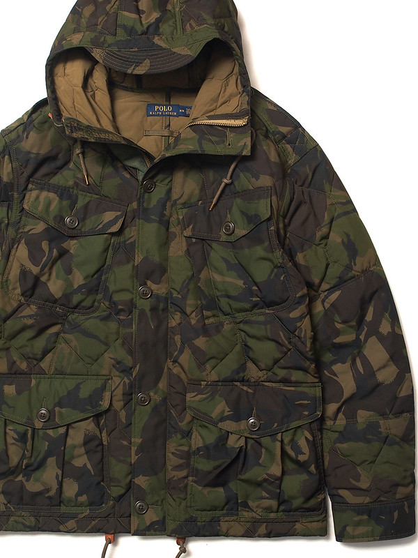 Ralph Lauren / Camo Quilted Jacket