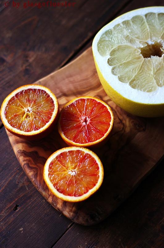 Blutorangen Pomelo Marmelade by Glasgeflüster 1 klein