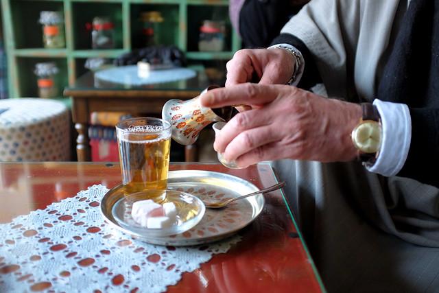 Sarajevo - At the tea house