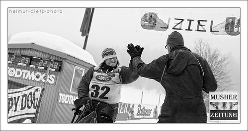 IFSS Sled Dog Racing WC (Sprint) 2015, Todtmoos (Germany): Anna Bajer, Poland