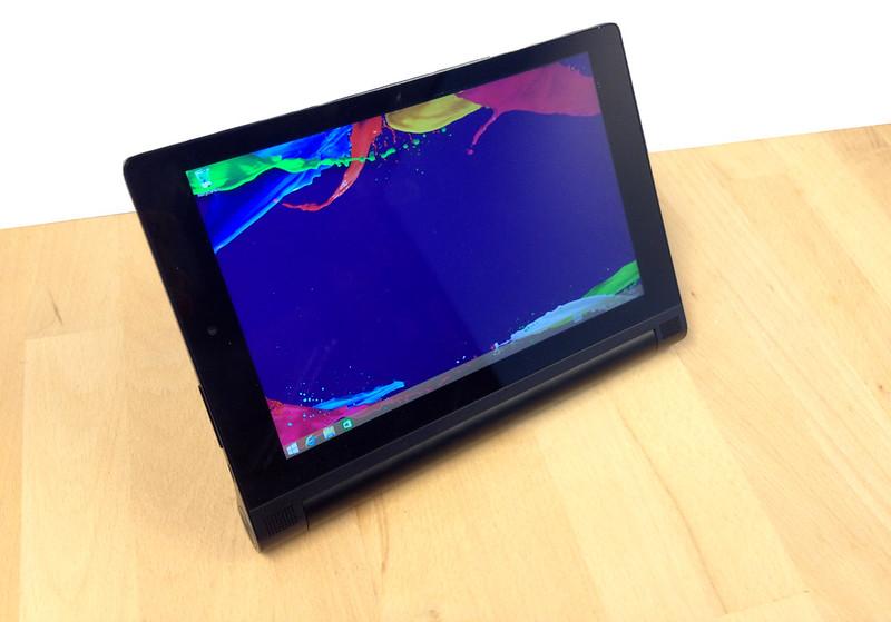 lenovo yoga tablet 2 windows 8 pouces test yoga tablet 2. Black Bedroom Furniture Sets. Home Design Ideas
