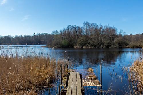 himmel sverige vatten sjö skånelän