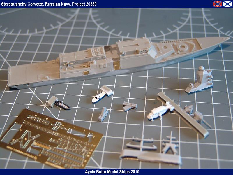 Corvette Russe Steregushchy 530, Project 20380 - Gwylan Models / Combrig 1/700 16623782082_3d534249bd_b