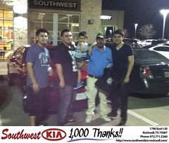 #HappyBirthday to Efrin Tonche from Don Reed at Southwest KIA Rockwall!