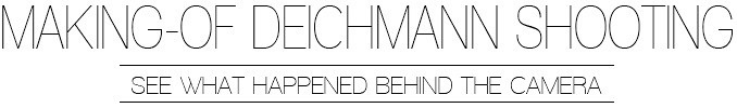 Making-of Deichmann Blogger Shooting