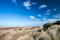 Holkham beach view