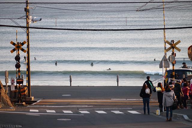櫻木、晴子、火車呢 | 湘南海岸鐮倉高校前