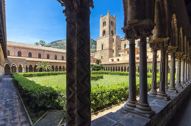 Monreale cloister