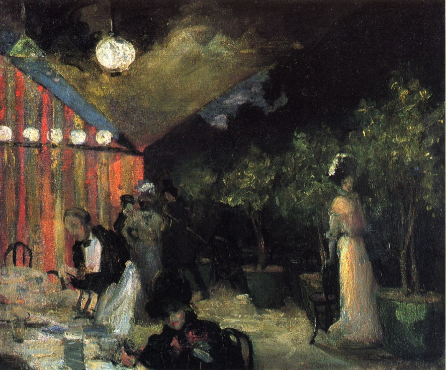 Paris Cafe by Alfred Henry Maurer - circa 1904