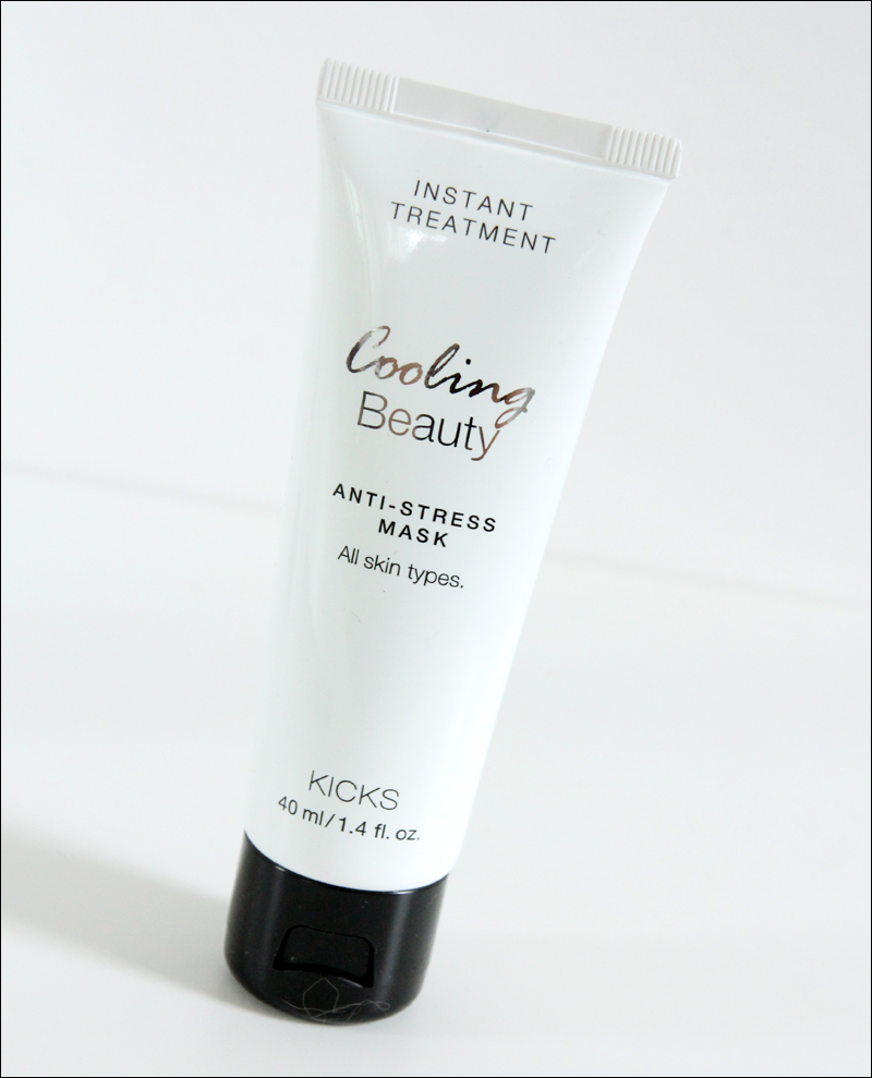 Kicks cooling beauty anti-stress mask