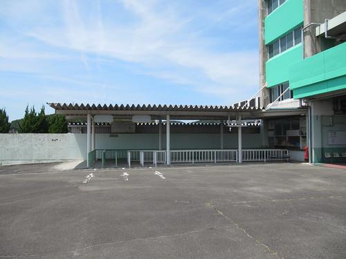 姫路競馬場の指定席売り場跡地