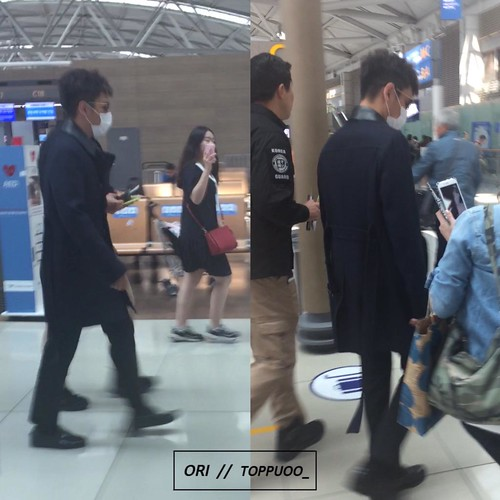 Big Bang - Incheon Airport - 29may2015 - TOP - Toppuoo_ - 01