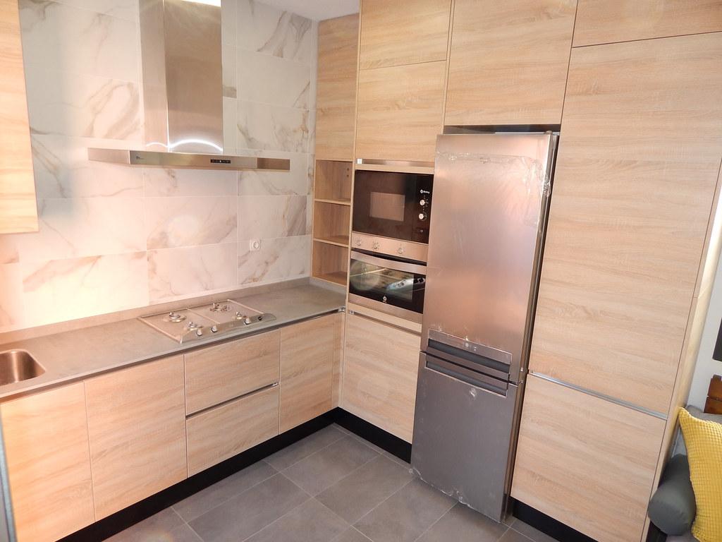 Muebles de cocina roble agreste for Muebles de cocina roble