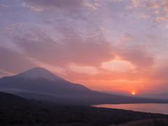 Sunset ,Mt.Fuji ,Japan