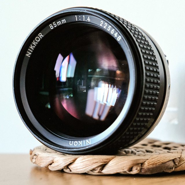 NIKKOR 85mm 1:1.4 AI-s