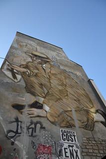 Paris Belleville, fresque de Jean Le Gac