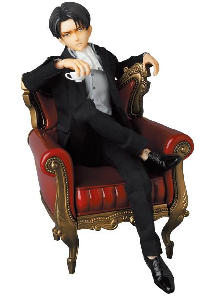 RAH《進擊的巨人》里維 (紳士服版本)