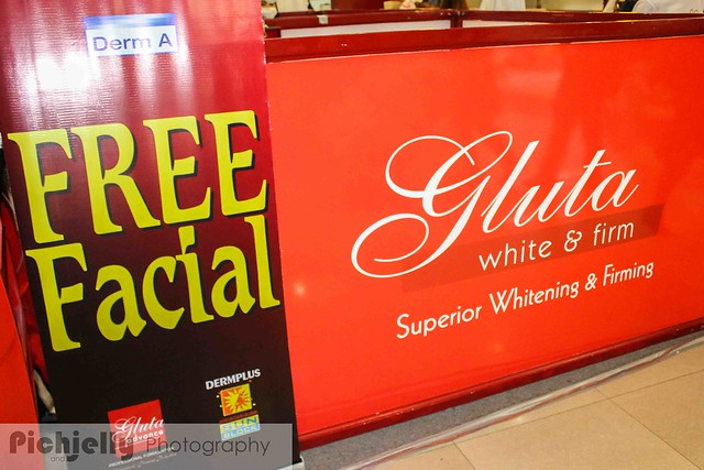 Gluta White and Firm| My First facial Experience :D