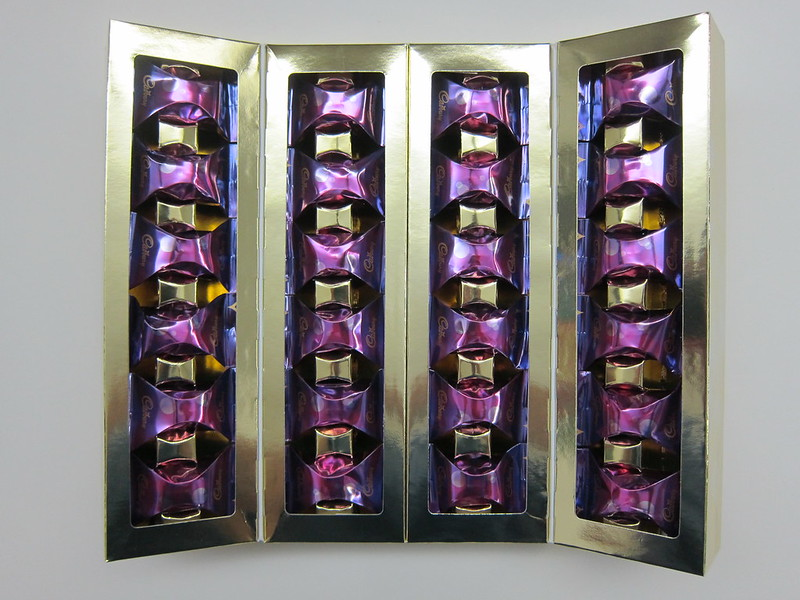 Cadbury Glow - Box Inner Open