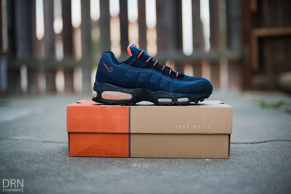 1999 Obsidian & Orange AM95's.