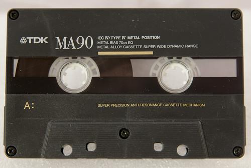Cassette TDK MA90