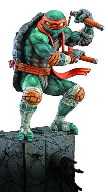 【官圖更新】Good Smile -《忍者龜》米開朗基羅 收藏雕像作品 第二彈