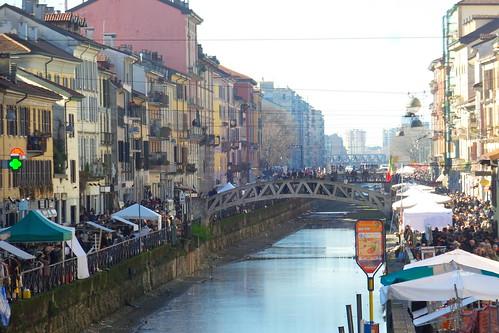 Il Naviglio Grande, in veste #Vintage