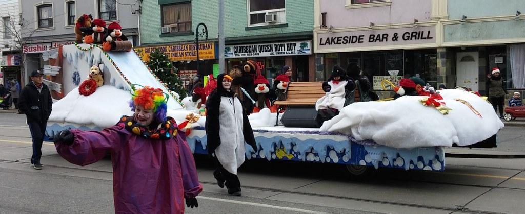 Lake Shore Santa Claus Parade 2014