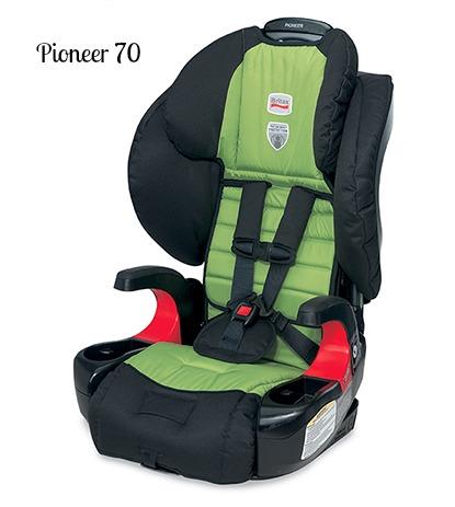 Pioneer 70 sillas Britax para niños