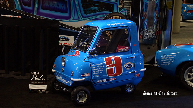 Racing Peel P50 The World's Smallest Car