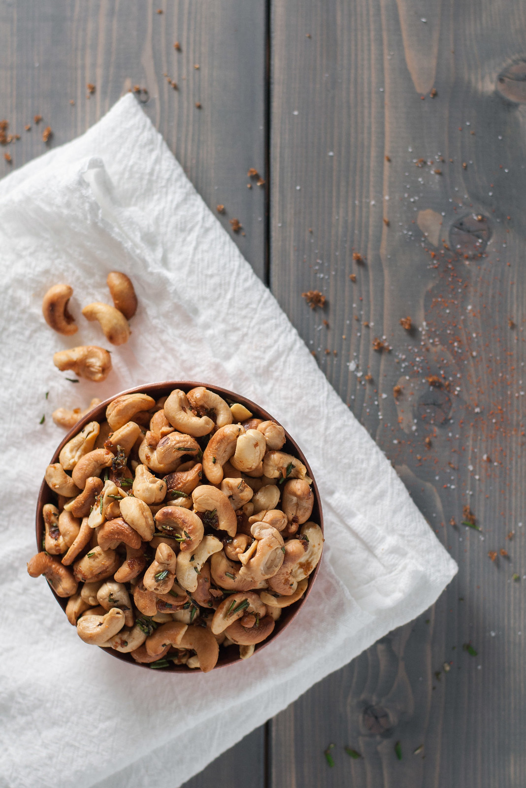 Ina's rosemary roasted cashews - the only cocktail nut recipe you'll need again. Ever.