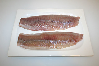 01 - Zutat Seelachsfilet / Ingrecdient coalfish filet