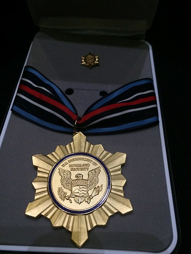 DHS Secretary's Exceptional Service Gold Medal Award presented to a team of USDA's Agricultural Research Service (ARS) scientists and their U.S. Department of Homeland Security (DHS) collaborators.