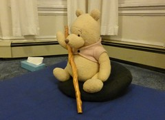 Zen Master bear with Zen stick