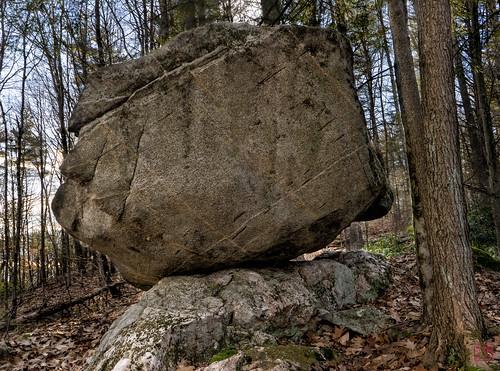 sunset rocks unitedstates massachusetts hike tully balancedrock royalston bfr tullylake winter2014
