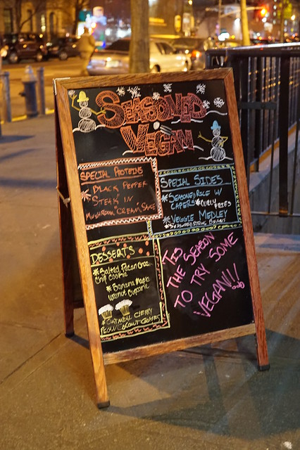 Seasoned Vegan - Signs Signs