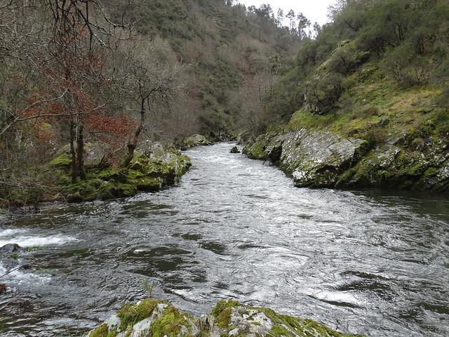 Río Arnoia entre Cartelle y Gomesende