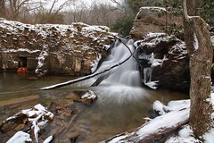Waterfall off of Moores Springs Road