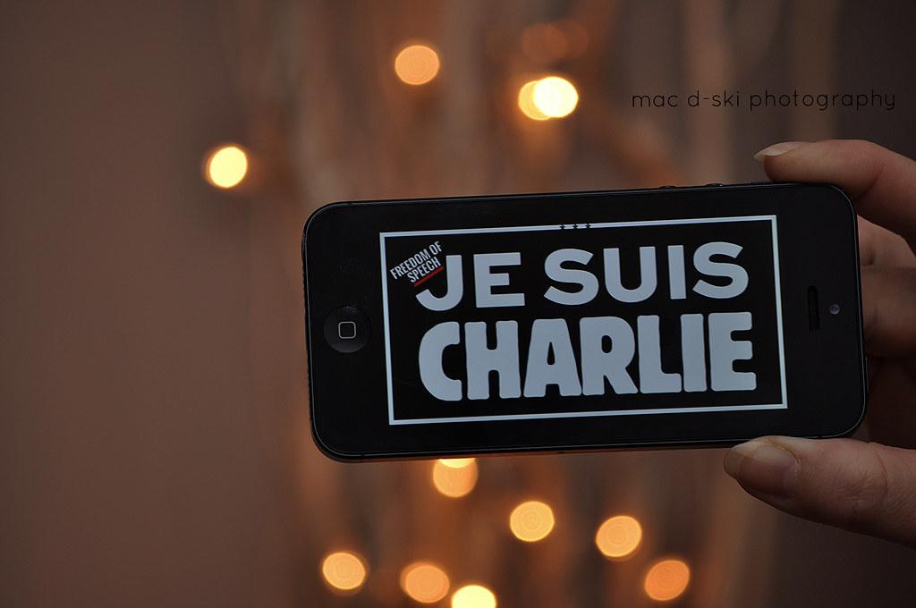 JE SUIS CHARLIE  #jesuischarlie #freedom #freedomofspeech #solidarity