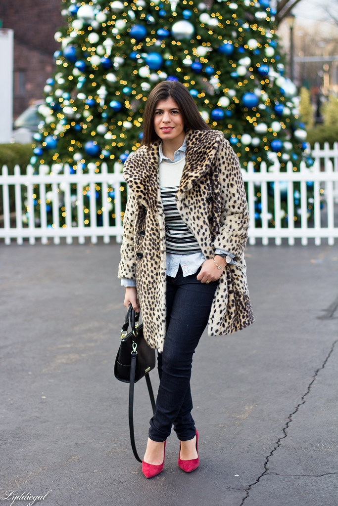 leopard coat, striped sweater, chambray-3.jpg