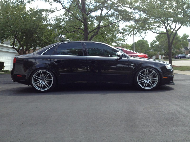 B7 With Rs4 Wheels