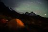 Star Trails over Cuernos Principal by Pichaya V. (Zolashine)