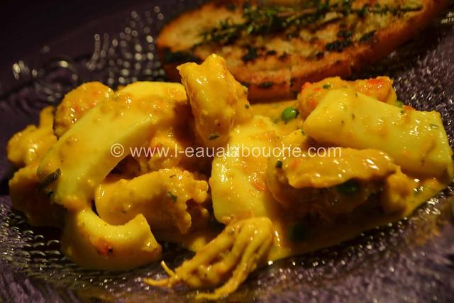 Ragoût de Seiches-Calamars-Crevettes au Safran © Ana Luthi Tous droits réservés 042