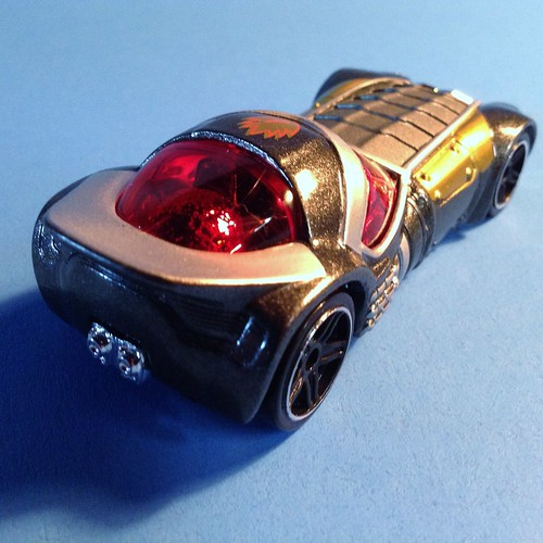 Guardians Hot Wheels Star-Lord back