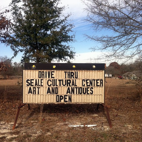Drive Thru Museum and Art Gallery, Seale, Alabama